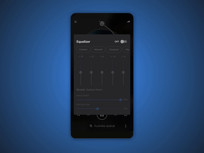 Music Equalizer on MX Player music equalizer music player mx