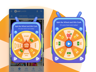 Wheel of Fortune by MX Player wheel of fortune gamification jackpot video player mx player