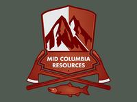 Mid Columbia Resources Truck Badge
