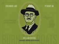 William Boeing Portrait for Coolhouse Labs