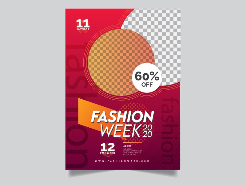 Fashion flyer design template fashion business flyer typography promotion corporate flyer flyer design design