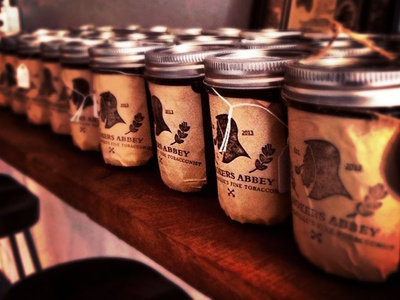 Smokers Abbey | Tobacco Jars : Package Design