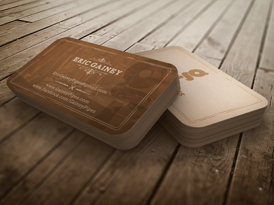 Eric Gainey Pipes | Business Cards