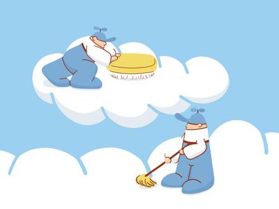 Clouds grooming