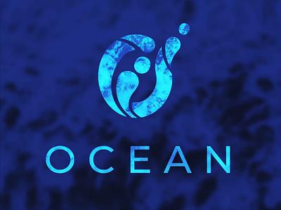 Ocean Logo ocean branding brand identity logo daily logo challenge