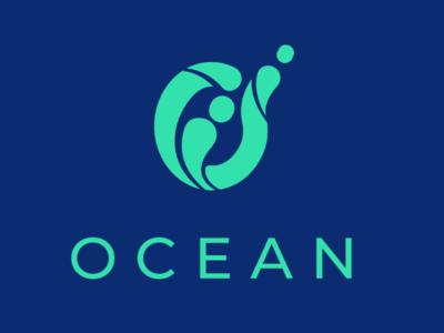 Ocean Logo branding logo ocean one letter daily logo challenge