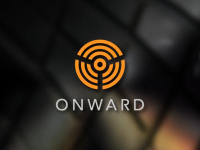 Onward Logo symbol visual identity brand car autonomous logo daily logo challenge