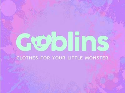 Goblins Logo Design fashion illustration children punk goblin logo daily logo challenge brand identity brand monster
