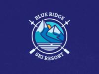 Ski Mountain Logo