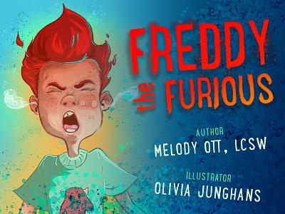 Freddy the Furious freddy illustration design illustration art children book illustration childrens book