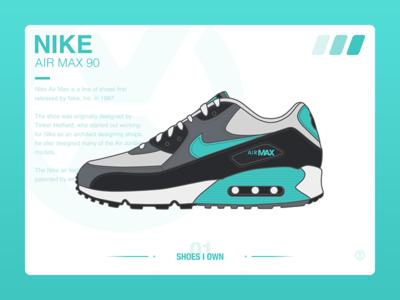 #SHOES I OWN# 01 Air Max 90