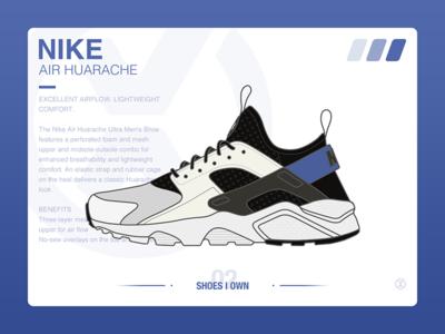 #SHOES I OWN# 02 Nike Air Huarache