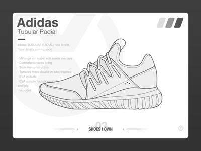 #SHOES I OWN# 03 Adidas Tubular Radial