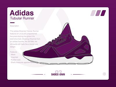 #SHOES I OWN# 04 Adidas Tubular Runner ui sneaker shoe