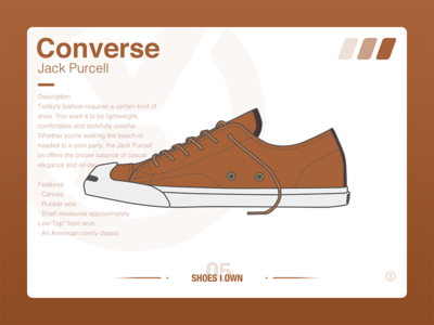 #SHOES I OWN# 05 Converse Jack Purcell