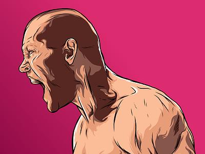 Portrait иллюстратор вектор иллюстрация sportillustration vector illustration