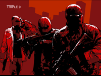 "Movie poster ""Triple 9"""