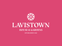 Lavistown House & Gardens gardening garden ireland vector graphic identity icon minimal logo