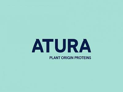 Atura logotype colour logo design identity design identity branding identity logo
