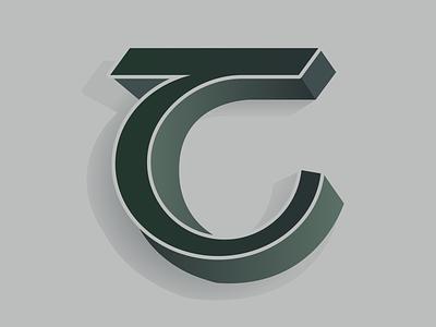 Irish type - T vector design minimal alphabet irish graphic lettering typography type