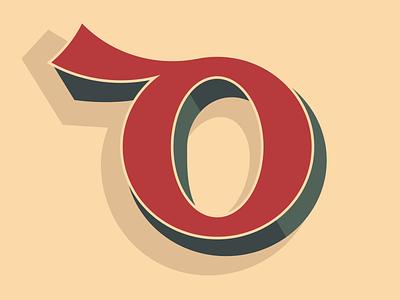 Irish Type - Insular d graphics design irishtype ireland minimal vector gaelic alphabet irish graphic lettering typography type