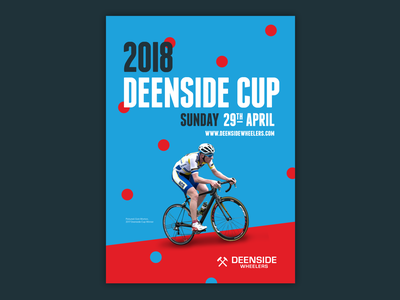 Deenside Cup 2018 rouleur minimal typography type vector graphics 2018 poster cycling