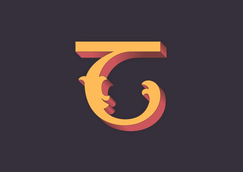 T typo irishtype ireland graphics alphabet irish graphic vector minimal lettering typography type