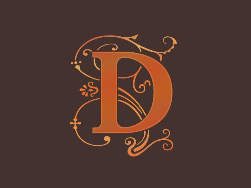 D design alphabet graphic vector lettering typography type
