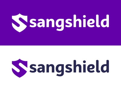 sangshield logo s sangshield branding logo shield brand