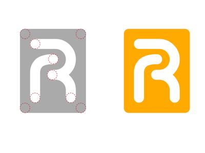 RR Logo illustration branding brand logo rr