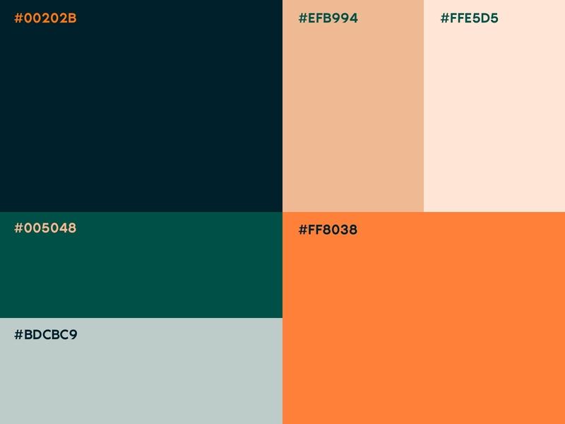 Color Palette for branding cafe brand palette colour color color palette sketch