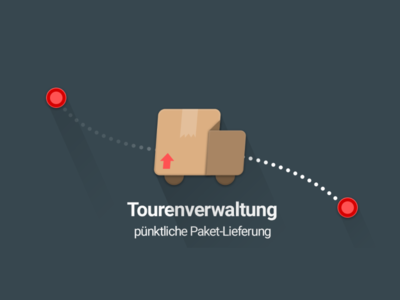 Android App Icon & Graphics Project: Tourenverwaltung