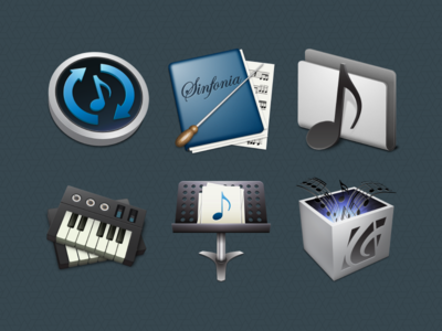 macOS App Icon Project: Music Application