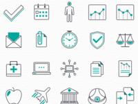 Presentation Icons Project: Various Icons