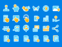 Web App Icons Project: Various Icons