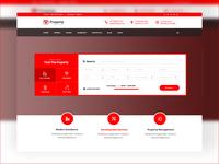 Property: Real Estate Dealer Website - Search and Header