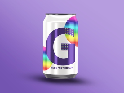 Dribbble Weekly Warm-Up #19 weekly warm-up soda can soda shapes cola packaging mockup logo illustrator graphicdesign graphic dribbbleweeklywarmup colorful colors color digital art tiktok branding beverages beverage