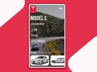 Tesla Car App Exploration