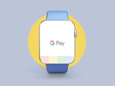Google Pay - Apple Watch interaction ui applewatch googlepay