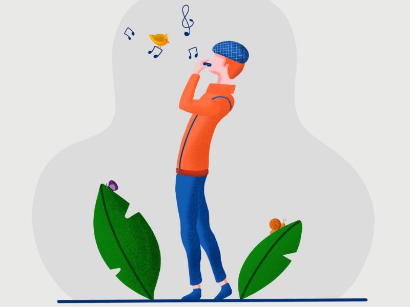 Music - Mouthorgan illustration