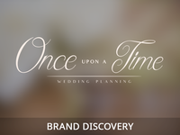 Brand Discovery | Wedding Planners