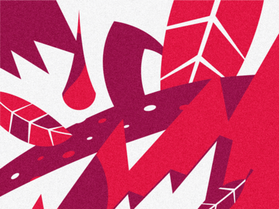 Fragment illustration about one track #5