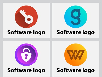 Apps And Software Logo,Icon Design.