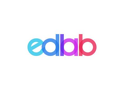 Edlab design identity branding logo