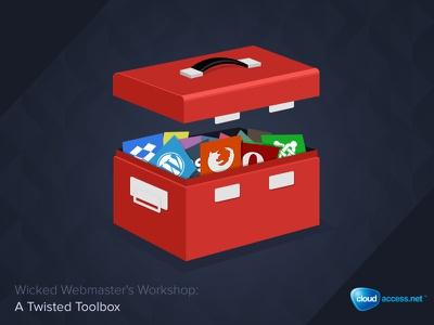 Toolbox toolbox graphic icon blog post icons red flat design