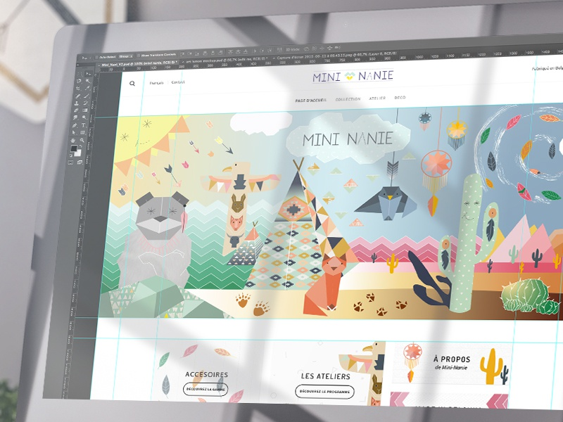 Mini Nanie ui colors belgium clothes kids flat webshop