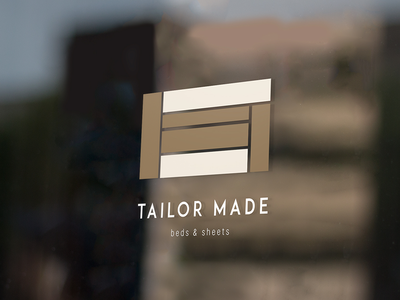 TAILOR MADE tailor made shop logo sheets beds