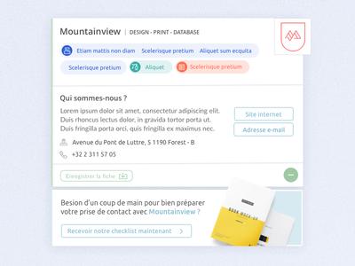 Floating profil card ui deisgn profile card design web clean belgium profil