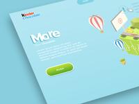 Kinder website concept