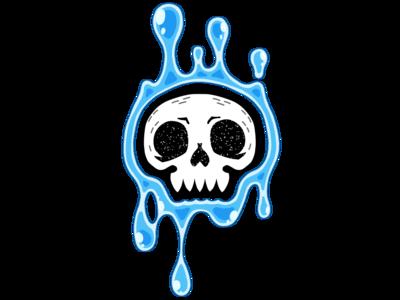 slimy skull